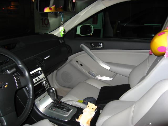 Infiniti G35 Interior. 2006 Infiniti G35 x AWD