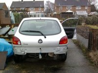 2001 Ford Fiesta, Rear Minus the bumper which is sat inside the car - Before Mods, exterior, gallery_worthy