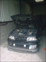 Picture of 1996 Ford Fiesta, engine
