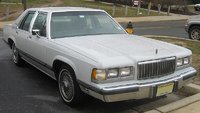 1991 Mercury Grand Marquis 4 Dr GS Sedan picture, exterior