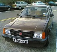 1979 Vauxhall Astra Overview