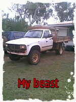 1983 Toyota Hilux Overview