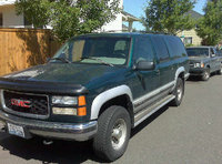 "1996 GMC Suburban K2500 4WD, 1996 suburban 4x4 with 4wd, 3/4 ton.  Our ""people mover."", exterior, gallery_worthy"
