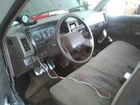 1990 Nissan Truck, Instllation of my new Tachometer, interior