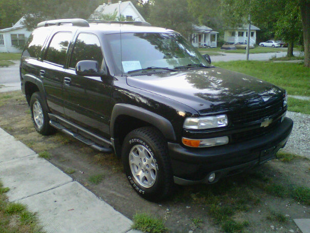 My new ride.....  Chevy tahoe!!!