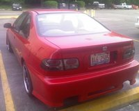 Picture of 1995 Honda Civic Coupe, exterior, engine, gallery_worthy