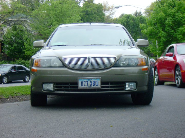 2002 Lincoln Continental Concept. 2002 Lincoln Ls V8