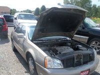 2003 Cadillac DeVille DTS picture, engine