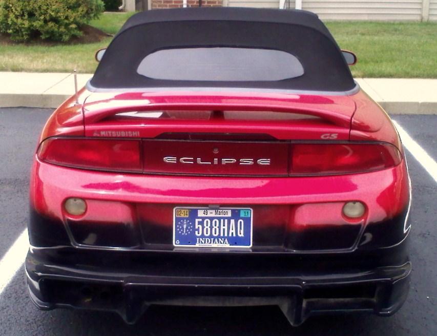 Mitsubishi Eclipse 2009 Gs. 1998 Mitsubishi Eclipse Spyder