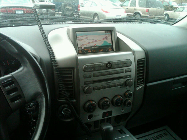 Nissan Maxima 20010. 2011 Nissan Armada Interior