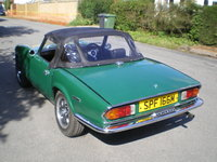 1973 Triumph Spitfire, now fully restored, exterior