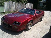 Picture of 1989 Chevrolet Camaro IROC-Z Convertible RWD, exterior, gallery_worthy