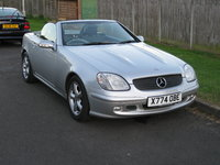 2000 Mercedes-Benz SLK-Class Picture Gallery