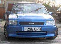 1989 Vauxhall Nova Overview