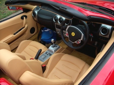 Ferrari F430 Spider Interior
