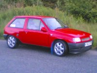 1992 Vauxhall Nova Overview