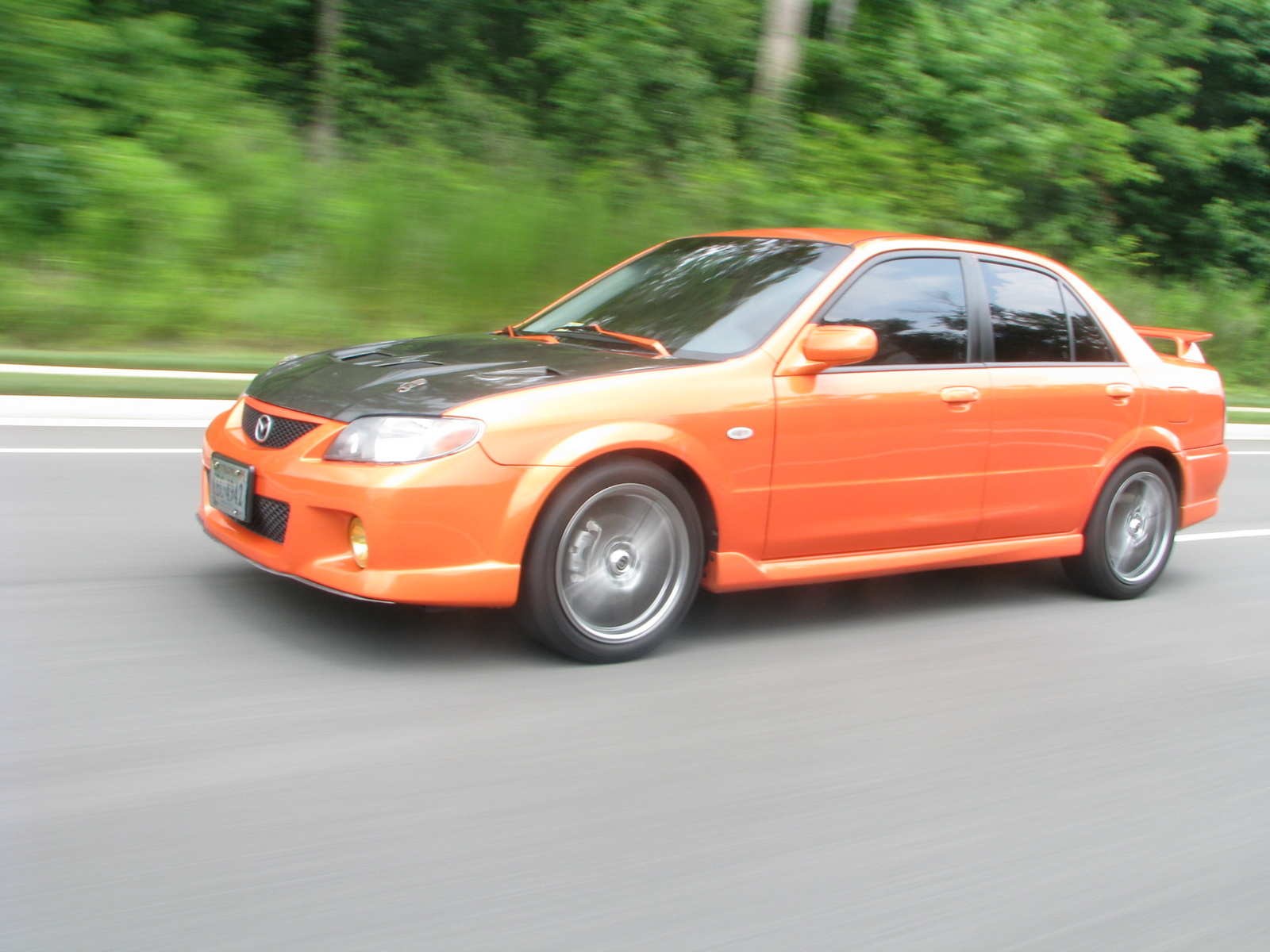 Mazda MAZDASPEED Protege 4 Dr Turbo Sedan - Pictures - 2003 Mazda ...