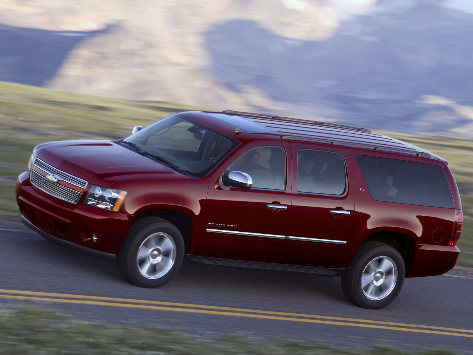 2011 Chevrolet Suburban, Copyright GM Corp., exterior, manufacturer