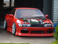 1991 Nissan Silvia, not my silvia but close to it, exterior, engine, gallery_worthy