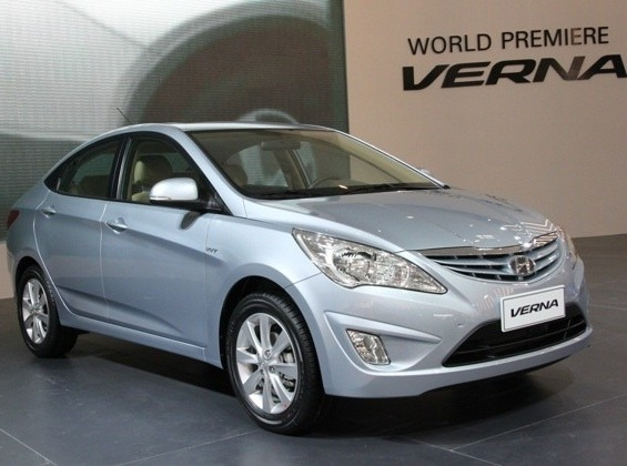 The Accent is called the Verna in many countries outside the U.S.
