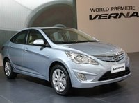 2011 Hyundai Accent, The Accent is called the Verna in many countries outside the U.S., exterior, manufacturer