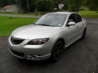 2006 Mazda MAZDA3 s Touring, just painted my stock wheels black, let me know what you think. thanks., exterior, gallery_worthy