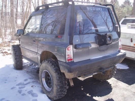 Picture of 1990 Suzuki Sidekick JLX 2-Door 4WD, exterior, gallery_worthy