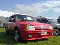 1984 Peugeot 205, M'n 205 GTI 1.6 van '84  Dit jaar is ie 25 endus Oldtimer, exterior