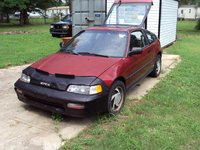 1991 Honda Civic CRX 2 Dr STD Hatchback picture, exterior