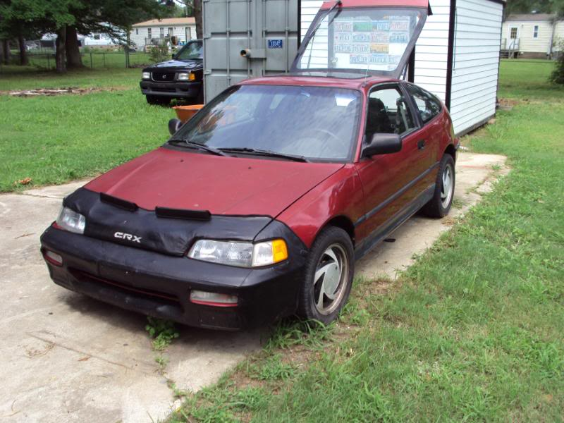 1991 Honda Civic CRX 2 Dr STD Hatchback picture