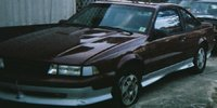 Picture of 1990 Chevrolet Cavalier Z24 Coupe, exterior