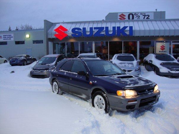 1997 Subaru Impreza 4 Dr Outback Sport AWD Wagon, DSC00121, exterior