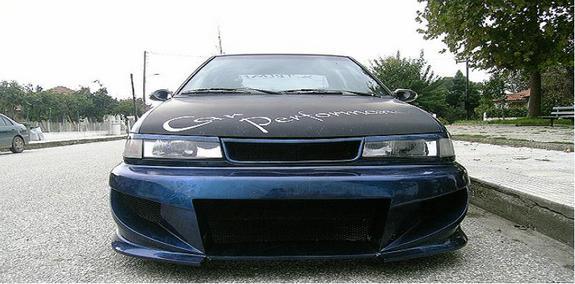 1994 Hyundai Excel 4 Dr GL Sedan picture, exterior
