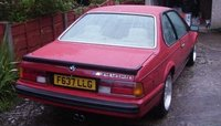 1989 BMW 6 Series Picture Gallery