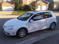 2008 Volkswagen Rabbit 4-Door, My White Rabbit, exterior