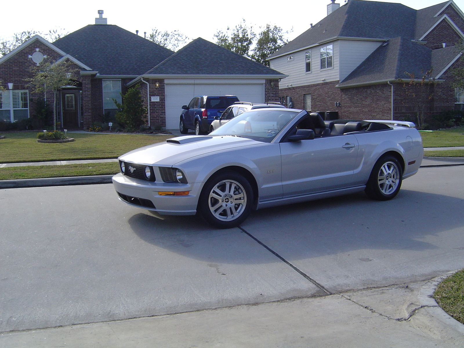 picture of 2007 ford mustang gt deluxe convertible exterior. Black Bedroom Furniture Sets. Home Design Ideas