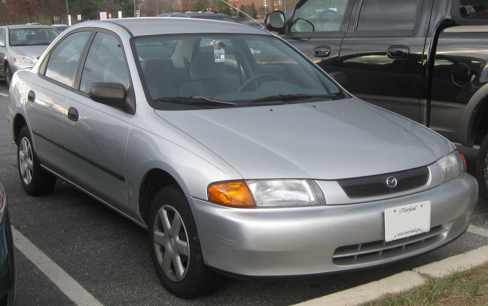1998 Mazda Protege 4 Dr ES Sedan picture