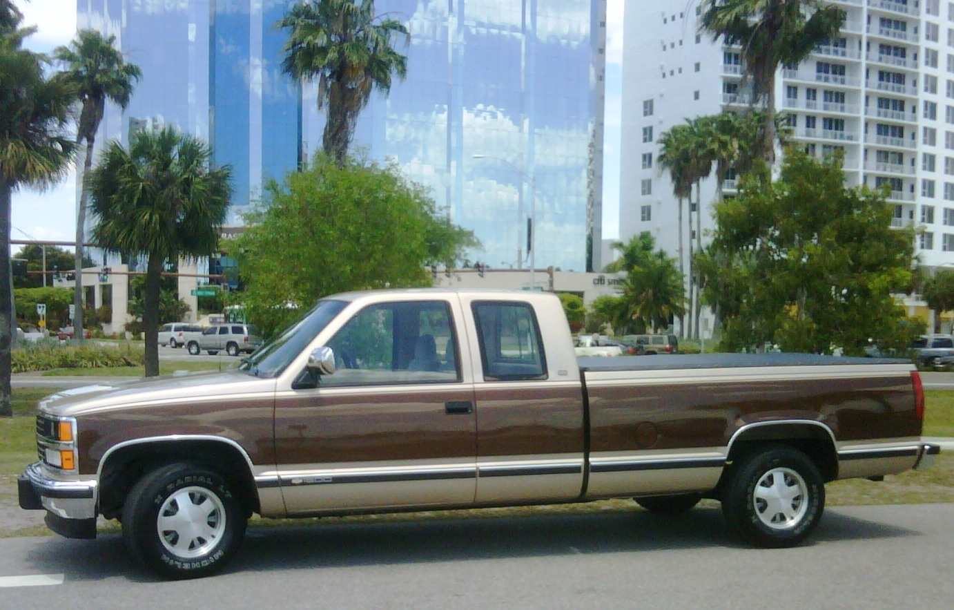 1996 chevy silverado 1500 4x4 gas mileage