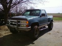 1994 Chevrolet C/K 1500 Reg. Cab 6.5-ft. Bed 4WD, My 93 Z71, exterior