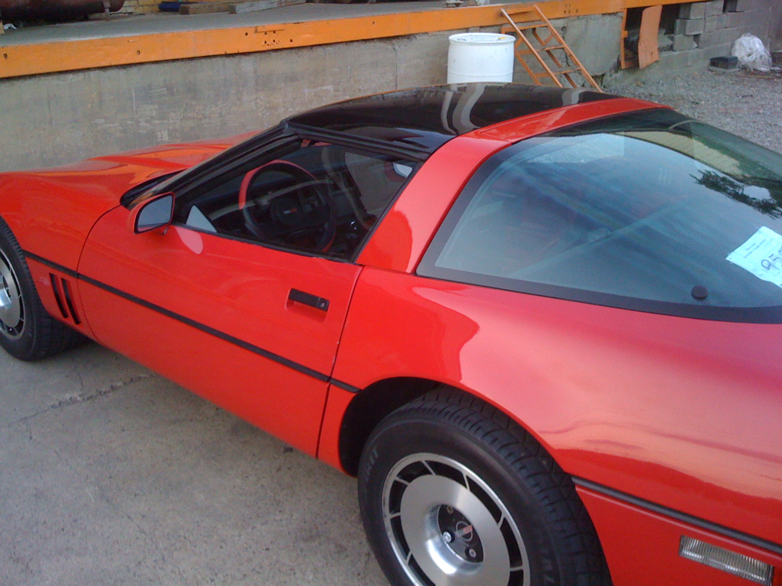 1985 Chevrolet Corvette Base, Picture of 1985 Chevrolet Corvette Coupe, exterior