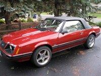 1983 Ford Mustang LX Convertible, 1983 Mustang convert 5.0 GT, exterior