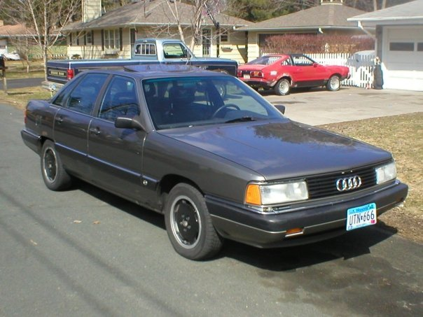 #7 1986 Audi 5000CS Turbo Quattro. REAL FAST!