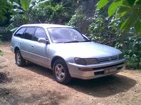 1992 Toyota Corolla Deluxe Wagon, 1992 Toyota Corolla EE107, exterior