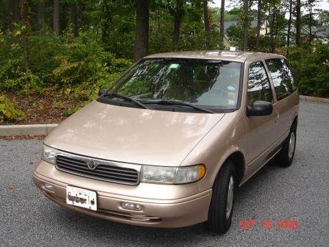 1997 Mercury Villager 3 Dr GS Passenger Van picture