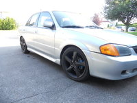 1999 Mazda Protege 4 Dr DX Sedan, Resultat apres conversion, exterior, gallery_worthy