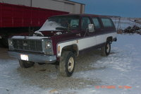 1979 Chevrolet Suburban, Before i got it without the hood, exterior