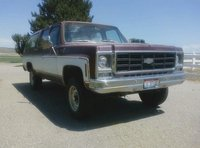 1979 Chevrolet Suburban, Finally got it to my house. Thank you Justin Taggert for this awesome Gift, exterior