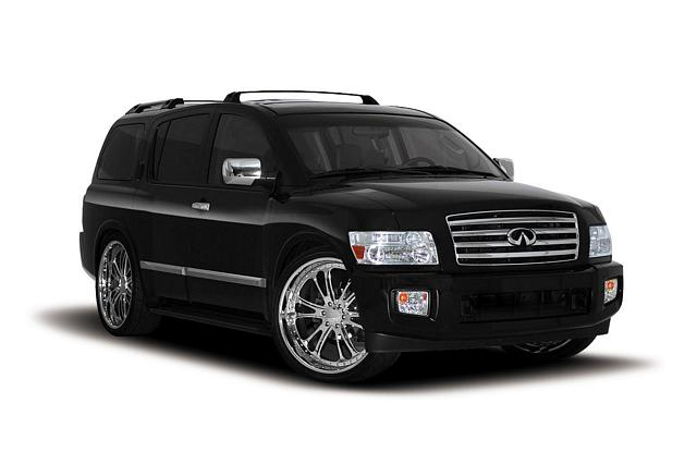2006 Infiniti QX56 4dr SUV 4WD picture, exterior