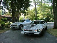 1981 Chevrolet Camaro, 81 camaro with 2010 friend, exterior