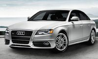 2011 Audi A4, front three quarter view , manufacturer, exterior